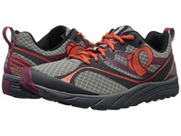 Pearl Izumi Em Trail M 2 V2 Shadow Grey Spicy Orange Men's Running Shoes Black