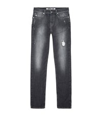 Mcq By Alexander Mcqueen Mcq Alexander Mcqueen Strummer Skinny Abrasion Jeans Male Light Grey