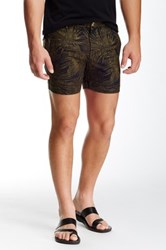 Parke And Ronen Printed Holler Short Green