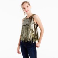 J.Crew Collection Sequin Mermaid Tank