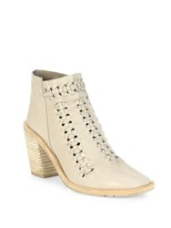 Ld Tuttle The Natural Block Heel Leather Booties Bone