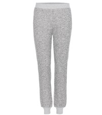 Atm Anthony Thomas Melillo Cotton Blend Track Pants Grey