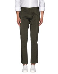 Mauro Grifoni Trousers Casual Trousers Men Military Green