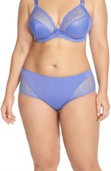 Plus Size Women's Elomi 'Carmen' Briefs Cashmere Blue