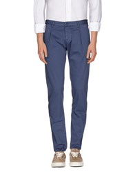 Officina 36 Trousers Casual Trousers Men Slate Blue