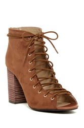 Chinese Laundry Biggest Lace Up Pump Brown