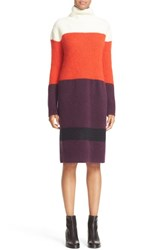 Rag And Bone Women's 'Britton' Stripe Wool Blend Sweater Dress