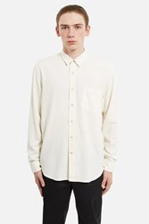 Our Legacy Classic Silk Shirt White