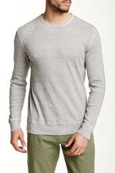 J.Crew Factory Twisted Rib Crew Neck Sweater Multi