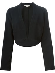 Antonio Berardi Curved Hem Bolero Jacket Black