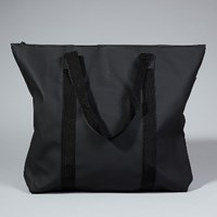 Rains Black Tote Bag