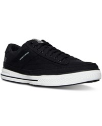 Skechers Men's Arcade Chat Memory Casual Sneakers From Finish Line Black White