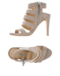 The Seller Footwear Sandals Women Dove Grey