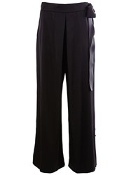 Maison Rabih Kayrouz Wide Leg Trousers Black