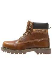 Caterpillar Colorado Laceup Boots Golden Tan