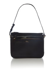 Tula Rye Black Medium Shoulder Bag Black