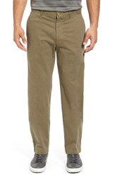 Bobby Jones Men's Brushed Stretch Twill Golf Chinos Safari