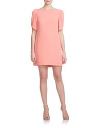 Cynthia Steffe Tulip Sleeved Shift Dress Coral
