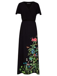 Sugarhill Boutique Blyth Garden Maxi Dress Black