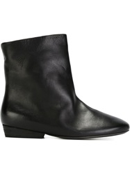 Marsell Marsell Flat Ankle Boots Black