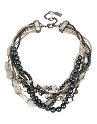 Kenneth Cole Torsade Necklace Mixed Metal
