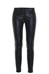 Rta Denim Leather Trousers