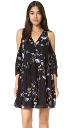 Rebecca Minkoff Robbie Dress Tropical Vine Multi