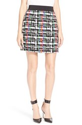Women's Milly 'Couture' Tweed Miniskirt