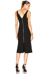 Roland Mouret Shannon Boucle Lace And Viscose Dress In Black