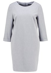 Opus Waneta Summer Dress Strong Grey Anthracite