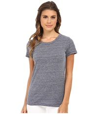 Alternative Apparel Ideal Tee Eco Navy Women's T Shirt Multi