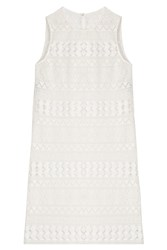Philosophy Di Lorenzo Serafini Crochet Lace Shift White