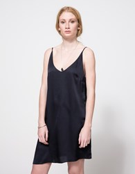 Stelen Carmen Slip Dress Navy