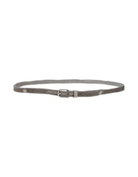 Riccardo Forconi Belts Grey