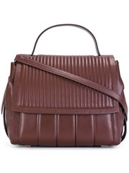 Dkny Quilted Tote Brown