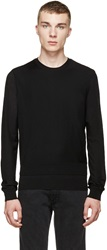 Dsquared Black Layered Zip Sweater
