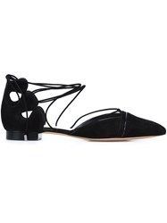 Alexandre Birman 'Ginger' Ballerina Shoes Black