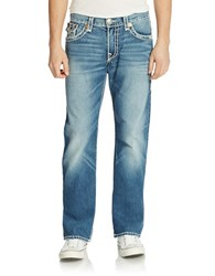 True Religion Stitch Accented Jeans Blue