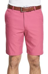 Men's Peter Millar 'Salem' Flat Front Shorts Rosebud