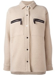 Filles A Papa 'Saul' Jacket Nude And Neutrals