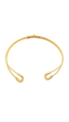 Giles And Brother Cortina Collar Necklace Gold