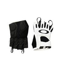 Oakley Factory Road Gloves 2.0 White Cycling Gloves