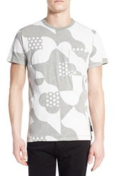 Men's French Connection 'Tile Camo' Graphic T Shirt