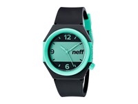 Neff Stripe Watch Black Teal Watches