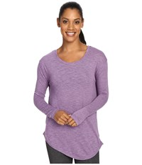 Soybu Skyla Sweater Silver Plum Women's Sweater Purple