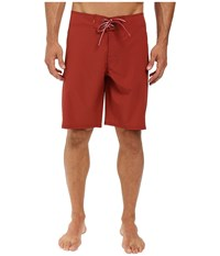 Quiksilver Makana Boardshorts Rosewood Men's Swimwear Red