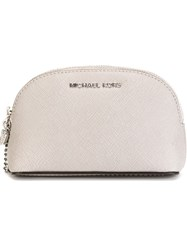 Michael Michael Kors 'Alex' Make Up Bag Grey