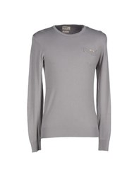 Red Soul Knitwear Jumpers Men Grey