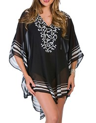 Miraclesuit Sheer Caftan Cover Up