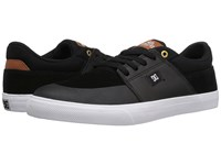 Dc Wes Kremer Black Brown White Men's Lace Up Casual Shoes
